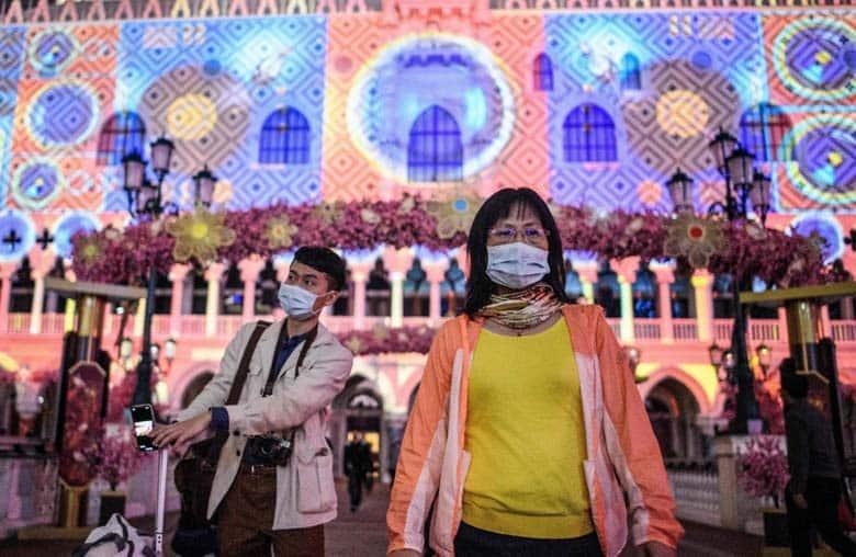 Macau low on visitors due to Coronavirus
