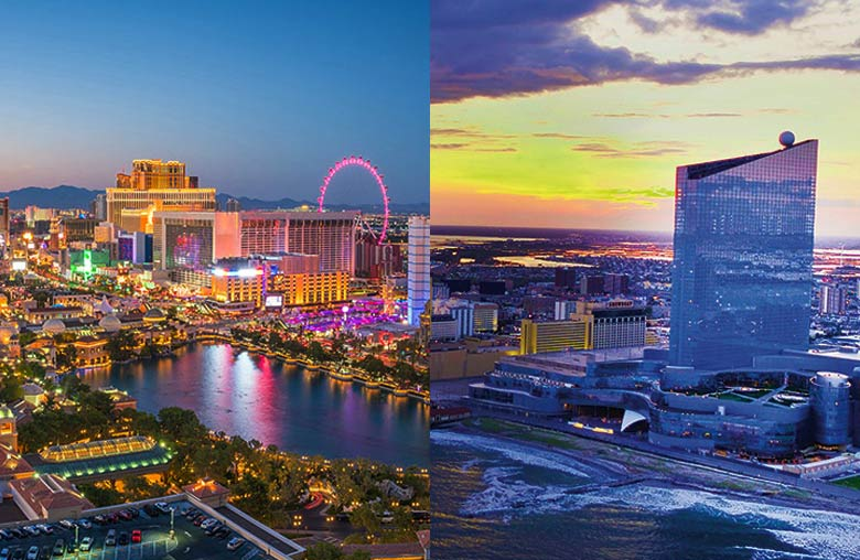 Nevada & Atlantic City Online Casinos