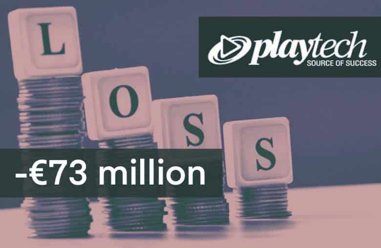 Playtech lose 73 million