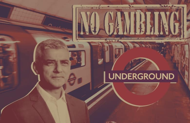 Back Underground: London Mayor Sadiq Khan Promises to Ban Gambling Adverts on Famous Tube Network
