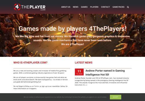 4ThePlayer desktop screenshot