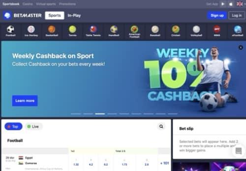 Betmaster desktop screenshot