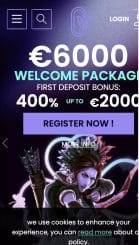 CasinoWin.bet mobile screenshot