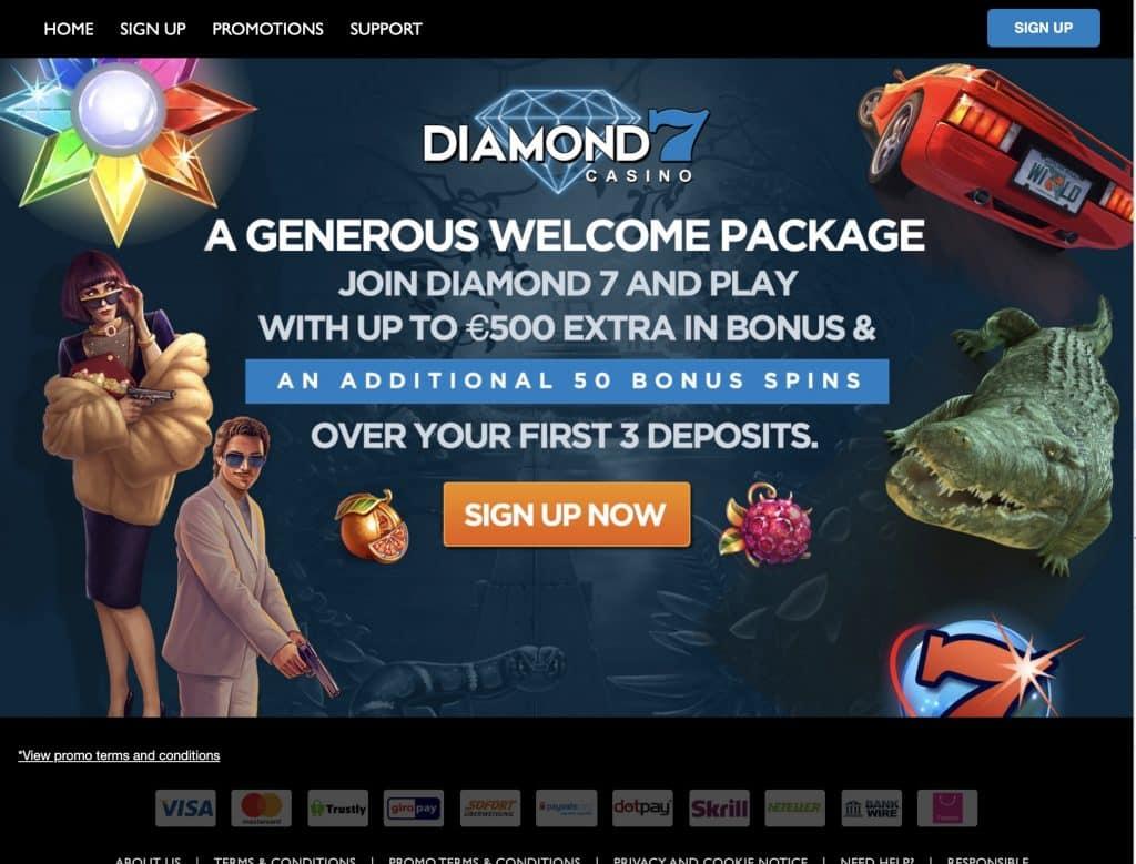 Diamond7 desktop screenshot