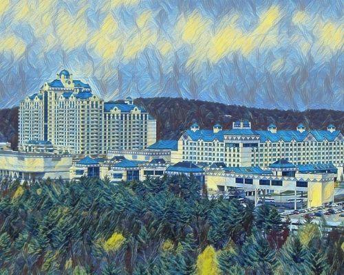 Foxwoods Resort Casino Connecticut USA