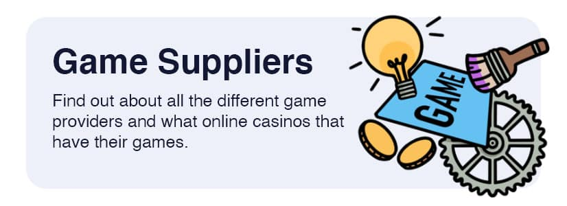 Game suppliers online