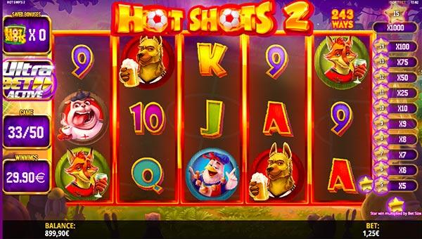 Hot Shots iSoftbet