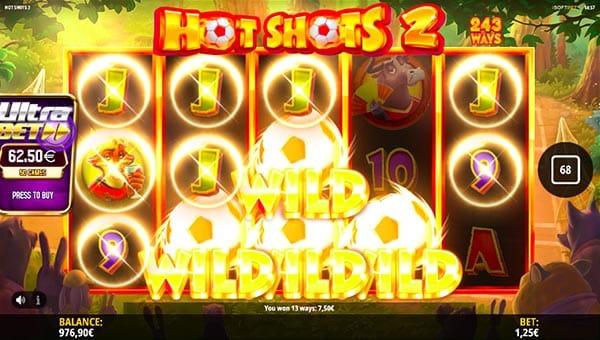 Hot Shots wild win