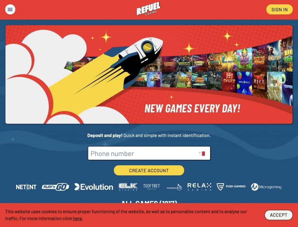 Refuel desktop screenshot