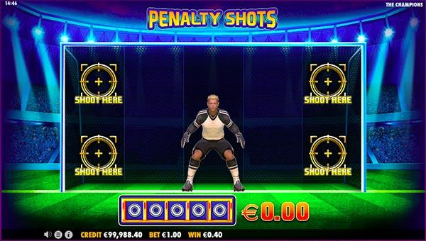 The Champions slot penalty shots