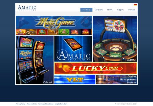 Amatic desktop screenshot