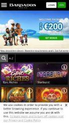 Barbados mobile screenshot