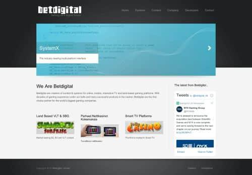 Betdigital desktop screenshot