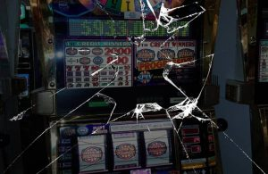 broken slot machines all over the USA