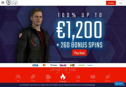 Captain Spins desktop screenshot