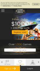 Casino Cruise mobile screenshot
