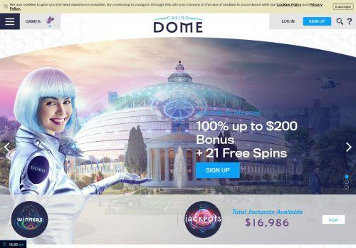 Casino Dome  desktop screenshot