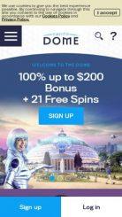 Casino Dome  mobile screenshot