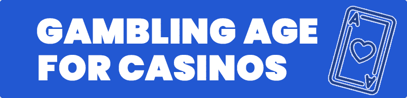 gambling age at casinos in New Zealand
