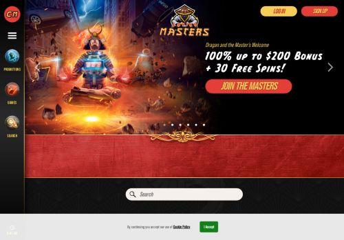 Casino Masters desktop screenshot