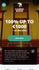 Casino Room mobile screenshot