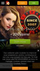 Casino.com mobile screenshot