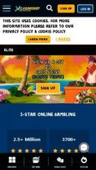 Casinodep mobile screenshot