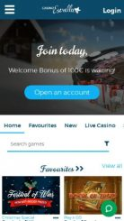 Casino Estrella mobile screenshot