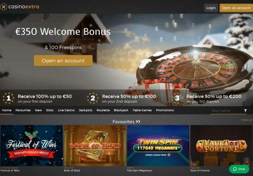 Casino Extra desktop screenshot