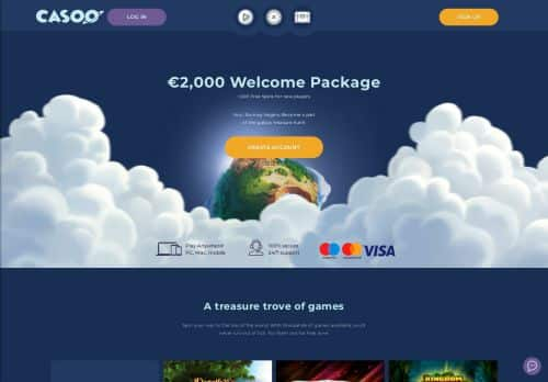 Casoo desktop screenshot