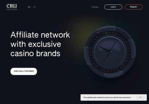 Chilli Partners desktop screenshot