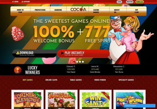 Cocoa desktop screenshot