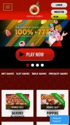 Cocoa mobile screenshot