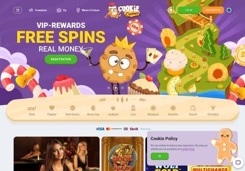 Cookie Casino desktop screenshot