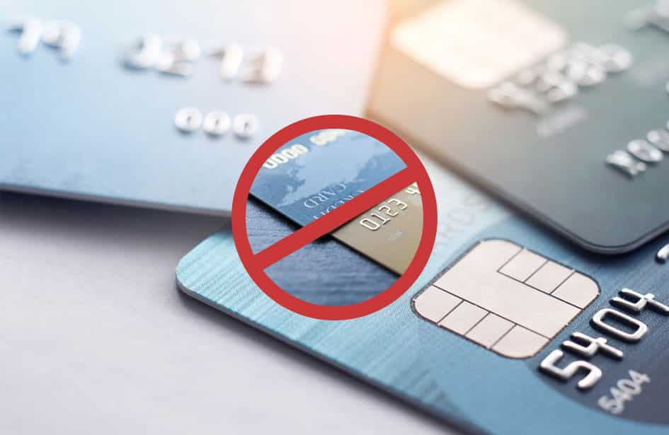 credit card deposits banned on UK gambling establishments