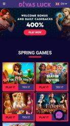 Divas Luck mobile screenshot