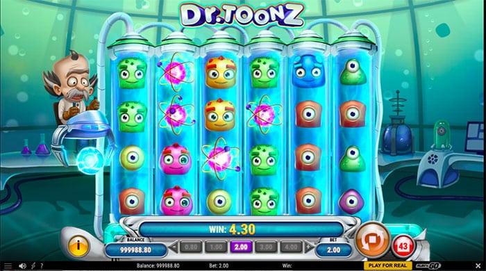 dr toonz slot win