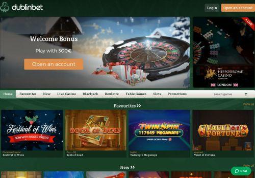 DublinBet desktop screenshot