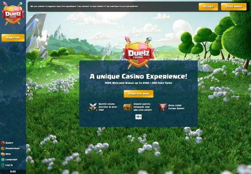 Duelz desktop screenshot