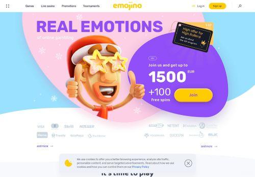 Emojino desktop screenshot