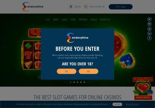 Endorphina desktop screenshot