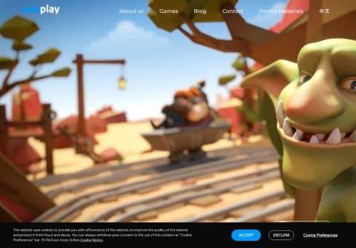 Evoplay Entertainment desktop screenshot
