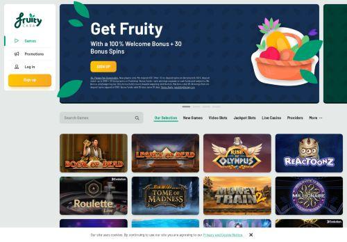 Fruity Casa desktop screenshot