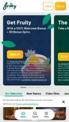 Fruity Casa mobile screenshot