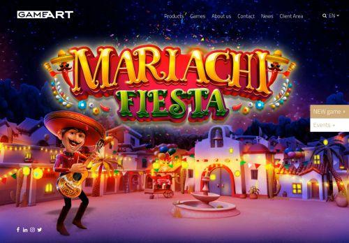 GameArt desktop screenshot