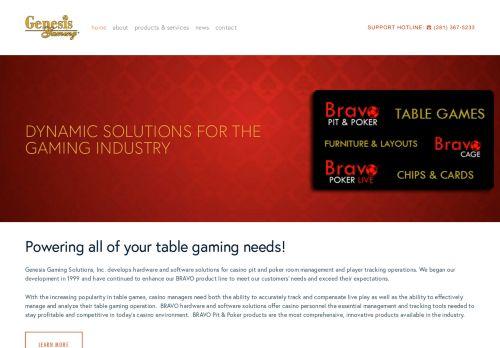 Genesis Gaming desktop screenshot