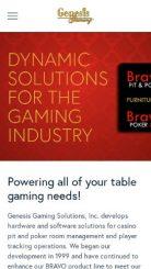 Genesis Gaming mobile screenshot