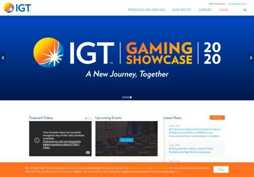 IGT desktop screenshot
