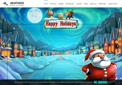 Inspired Entertainment desktop screenshot