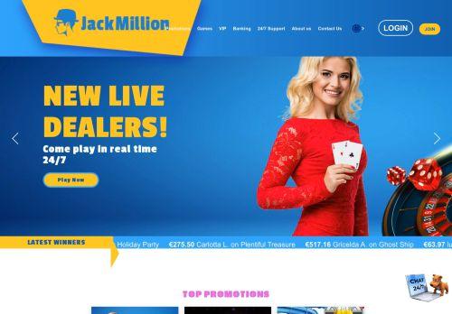 JackMillion desktop screenshot